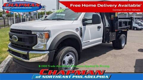 2021 Ford F-550 Super Duty for sale at CHAPMAN FORD NORTHEAST PHILADELPHIA in Philadelphia PA