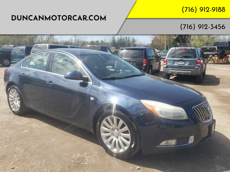 2011 Buick Regal for sale at DuncanMotorcar.com in Buffalo NY
