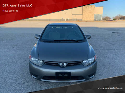 2007 Honda Civic for sale at GTR Auto Sales LLC in Haltom City TX
