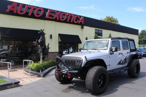 2010 Jeep Wrangler Unlimited for sale at Auto Exotica in Red Bank NJ