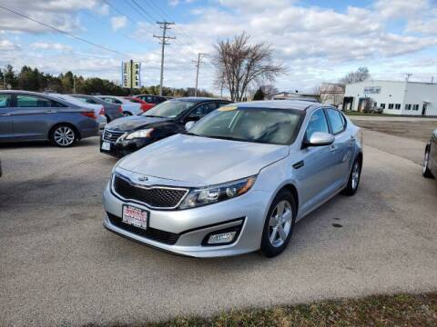 2015 Kia Optima for sale at Swan Auto in Roscoe IL