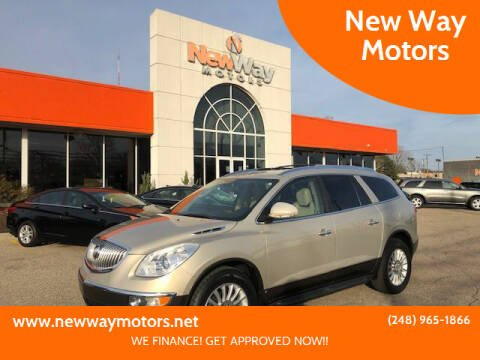 2009 Buick Enclave for sale at New Way Motors in Ferndale MI