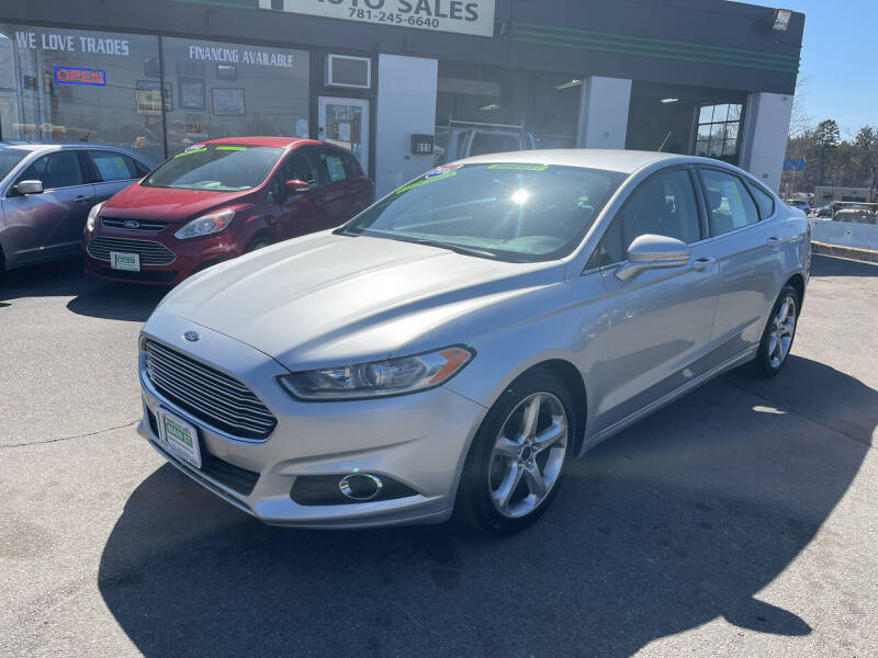 2016 Ford Fusion for sale at Wakefield Auto Sales of Main Street Inc. in Wakefield MA
