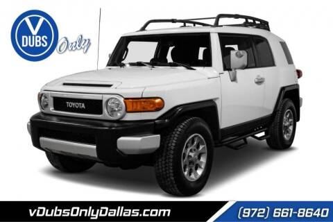 2013 Toyota FJ Cruiser for sale at VDUBS ONLY in Dallas TX