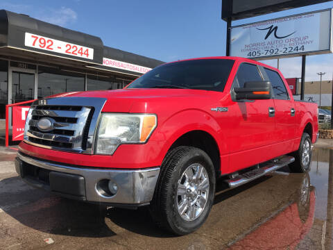 2009 Ford F-150 for sale at NORRIS AUTO SALES in Oklahoma City OK