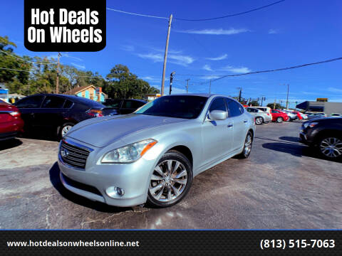 2011 Infiniti M37 for sale at Hot Deals On Wheels in Tampa FL