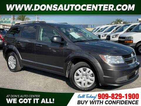 2017 Dodge Journey for sale at Dons Auto Center in Fontana CA