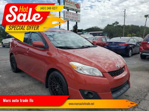 2009 Toyota Matrix for sale at Mars auto trade llc in Kissimmee FL
