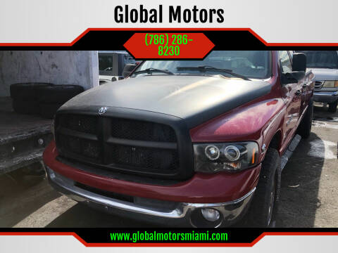 2004 Dodge Ram Pickup 2500 for sale at Global Motors in Hialeah FL