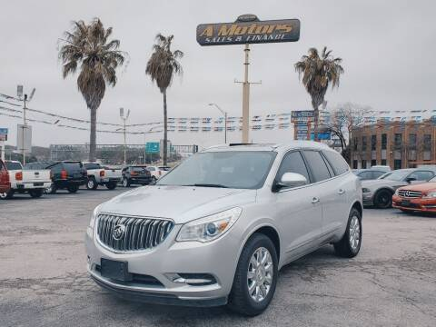 2015 Buick Enclave for sale at A MOTORS SALES AND FINANCE - 6226 San Pedro Lot in San Antonio TX