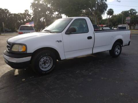 2001 Ford F-150 for sale at BSS AUTO SALES INC in Eustis FL