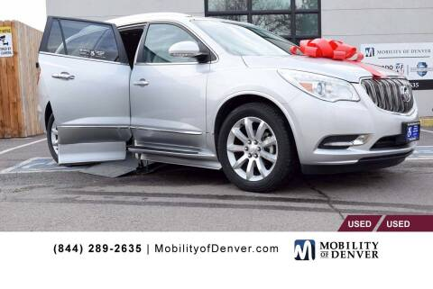 2015 Buick Enclave for sale at CO Fleet & Mobility in Denver CO