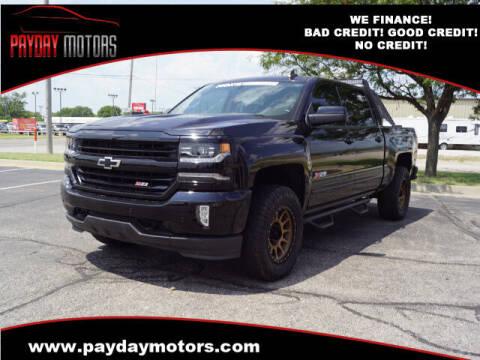 2018 Chevrolet Silverado 1500 for sale at Payday Motors in Wichita KS