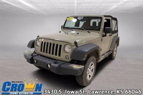 2018 Jeep Wrangler JK for sale at Crown Automotive of Lawrence Kansas in Lawrence KS