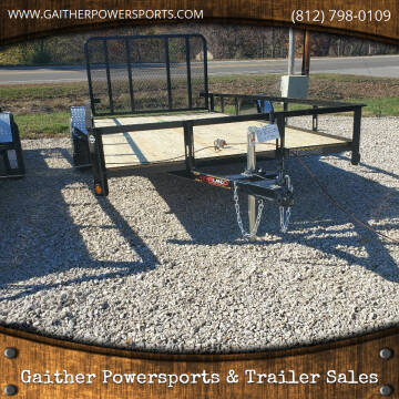 "2021 Heartland 14'x82"" Utility Trailer for sale at Gaither Powersports & Trailer Sales in Linton IN"