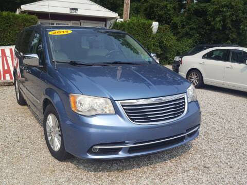2011 Chrysler Town and Country for sale at Jack Cooney's Auto Sales in Erie PA