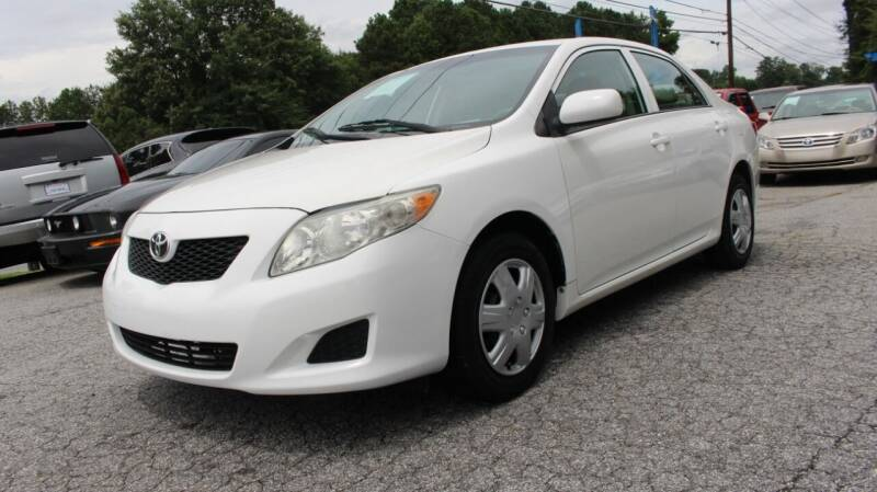 2009 Toyota Corolla for sale at NORCROSS MOTORSPORTS in Norcross GA