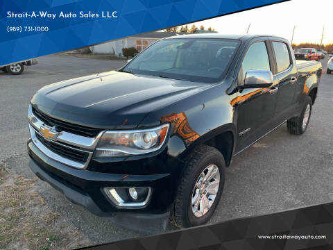 2017 Chevrolet Colorado for sale at Strait-A-Way Auto Sales LLC in Gaylord MI