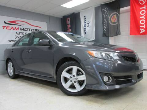 2012 Toyota Camry for sale at TEAM MOTORS LLC in East Dundee IL