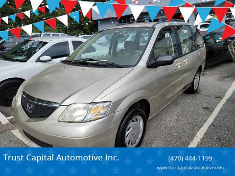 2003 Mazda MPV for sale at Trust Capital Automotive Inc. in Covington GA