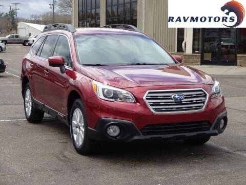 2015 Subaru Outback for sale at RAVMOTORS 2 in Crystal MN