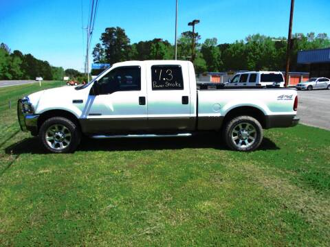 2002 Ford F-250 Super Duty for sale at NORTH GEORGIA Sales Center in La Fayette GA