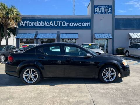 2012 Dodge Avenger for sale at Affordable Autos in Houma LA