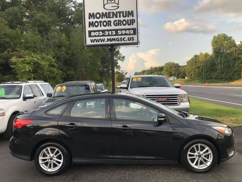 2015 Ford Focus for sale at Momentum Motor Group in Lancaster SC