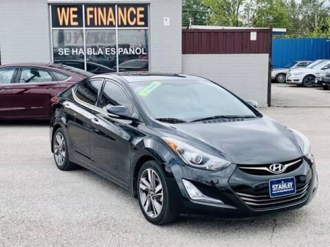 2014 Hyundai Elantra for sale at Stanley Automotive Finance Enterprise - STANLEY DIRECT AUTO in Mesquite TX
