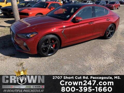 2019 Genesis G70 for sale at CROWN  DODGE CHRYSLER JEEP RAM FIAT in Pascagoula MS