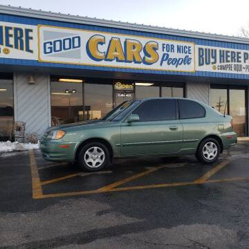 2004 Hyundai Accent for sale at Good Cars 4 Nice People in Omaha NE