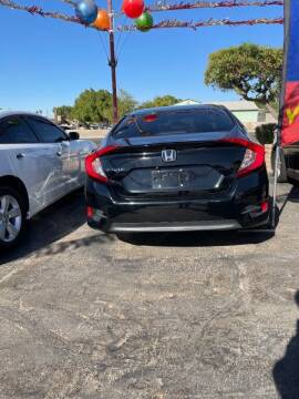 2016 Honda Civic for sale at CURIEL'S AUTO SALES LLC in Yuma AZ