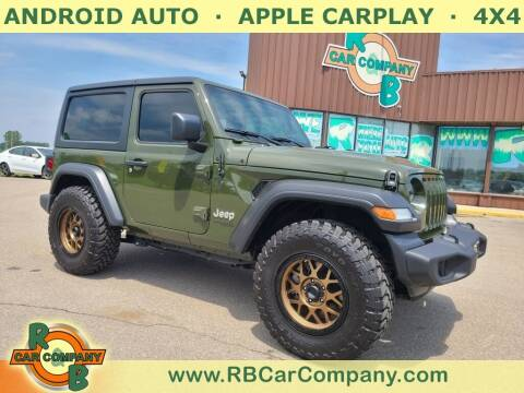 2021 Jeep Wrangler for sale at R & B Car Co in Warsaw IN