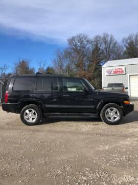 2006 Jeep Commander for sale at Hilltop Auto in Prescott MI
