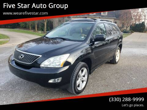 2007 Lexus RX 350 for sale at Five Star Auto Group in North Canton OH