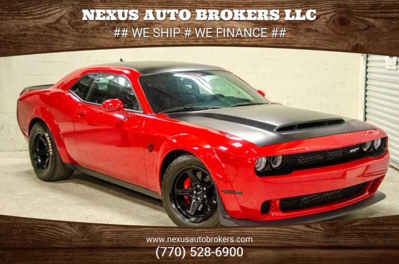 2018 Dodge Challenger for sale at Nexus Auto Brokers LLC in Marietta GA