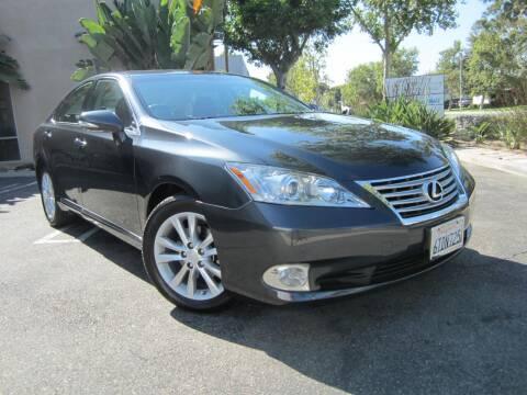 2011 Lexus ES 350 for sale at ORANGE COUNTY AUTO WHOLESALE in Irvine CA