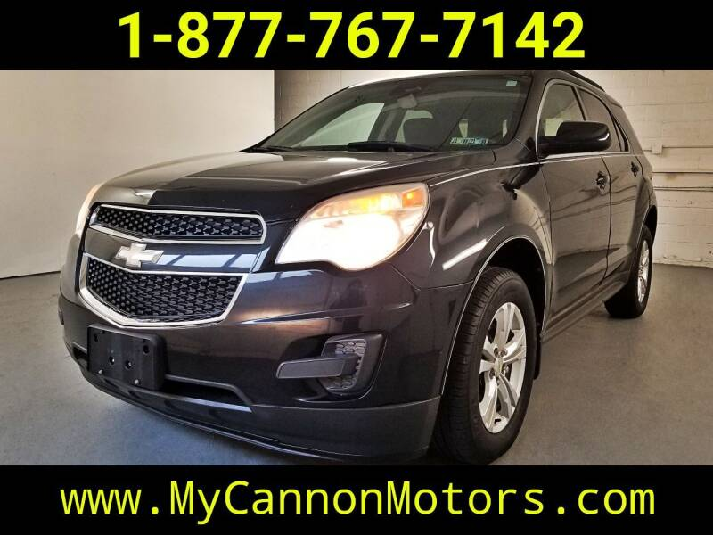2012 Chevrolet Equinox for sale at Cannon Motors in Silverdale PA