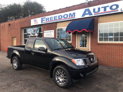 2012 Nissan Frontier for sale at FREEDOM AUTO LLC in Wilkesboro NC