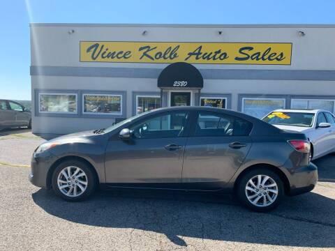 2012 Mazda MAZDA3 for sale at Vince Kolb Auto Sales in Lake Ozark MO
