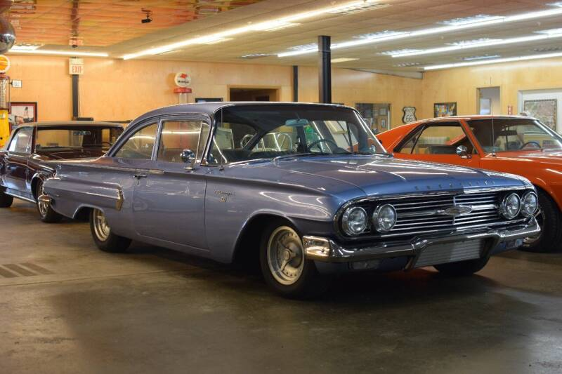 1960 Chevrolet Biscayne for sale at Hooked On Classics in Watertown MN