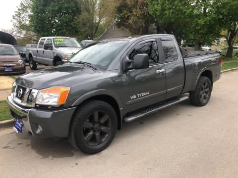 2008 Nissan Titan for sale at CPM Motors Inc in Elgin IL