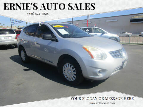 2012 Nissan Rogue for sale at Ernie's Auto Sales in Chula Vista CA