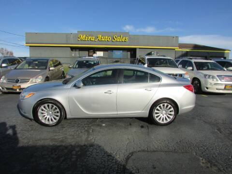 2012 Buick Regal for sale at MIRA AUTO SALES in Cincinnati OH