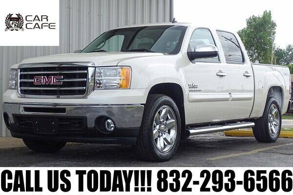 2013 GMC Sierra 1500 for sale at CAR CAFE LLC in Houston TX