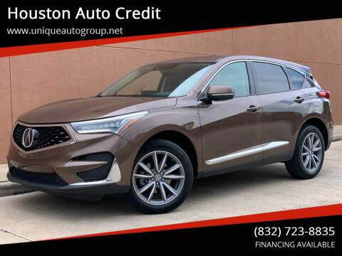 2019 Acura RDX for sale at Houston Auto Credit in Houston TX