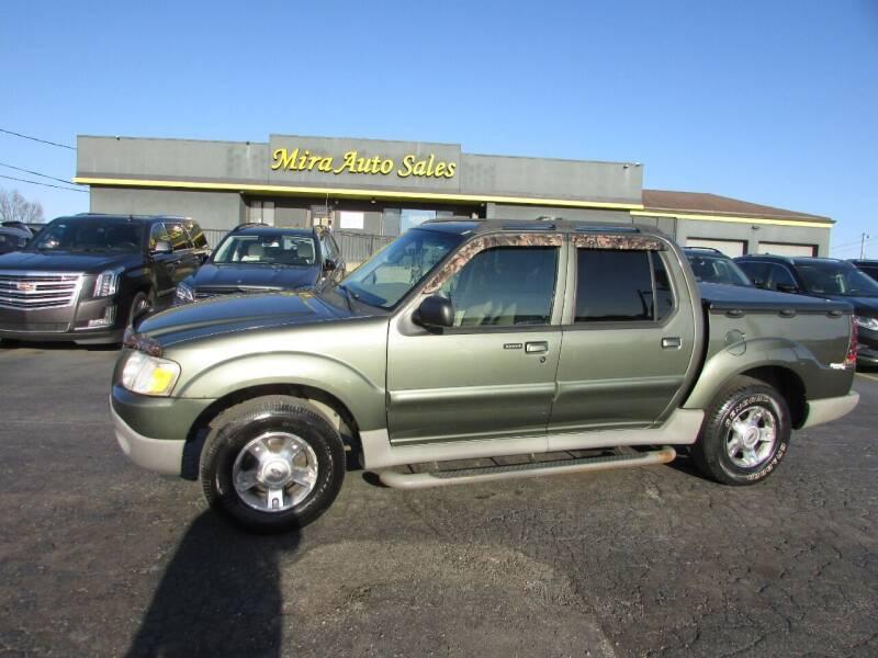 2003 Ford Explorer Sport Trac for sale at MIRA AUTO SALES in Cincinnati OH