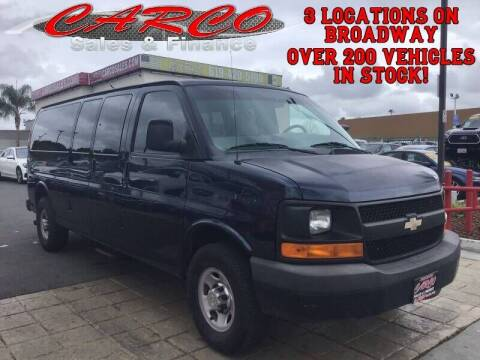 2010 Chevrolet Express Passenger for sale at CARCO SALES & FINANCE #2 in Chula Vista CA