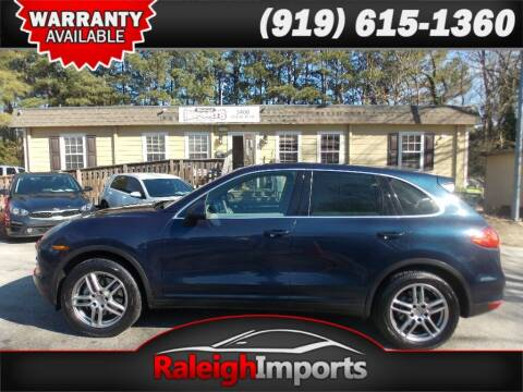 2011 Porsche Cayenne for sale at Raleigh Imports in Raleigh NC