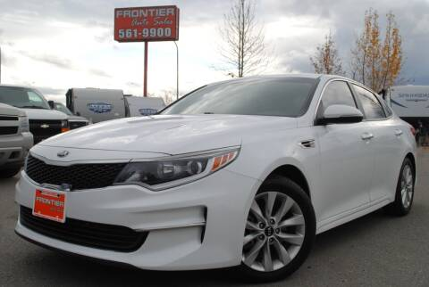 2016 Kia Optima for sale at Frontier Auto & RV Sales in Anchorage AK